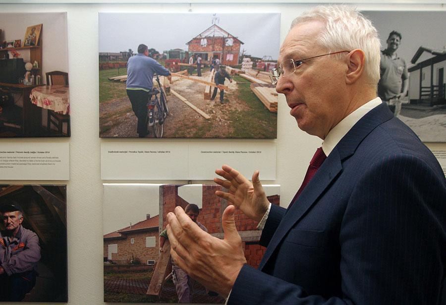 CEB Governor Rolf Wenzel