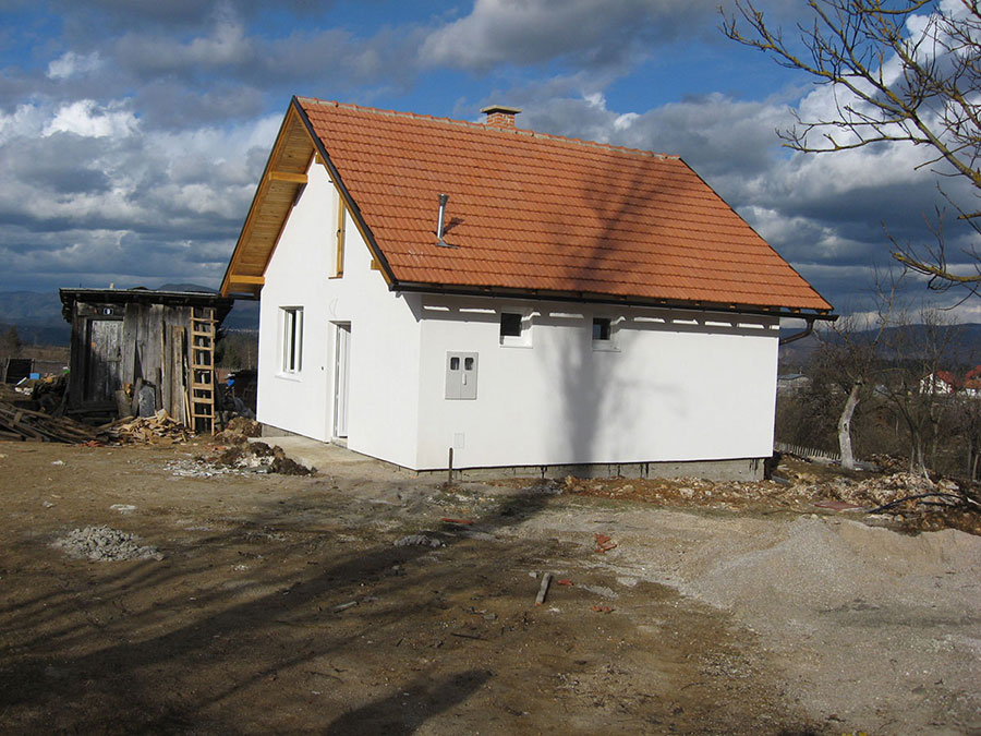 Reconstructed and newly constructed houses in Foca Ustikolina and Olovo, Bosnia and Herzegovina