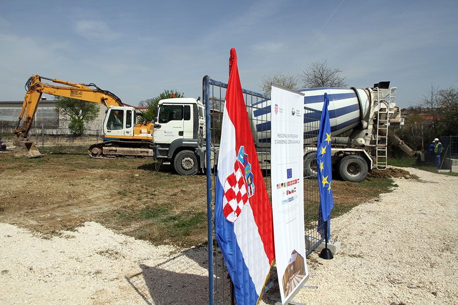 Launch of construction works in Benkovac, April 2016