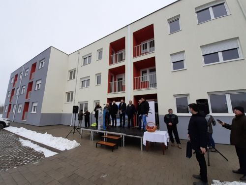 RHP delivery of keys ceremony, Zrenjanin, Serbia