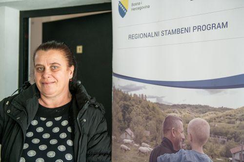 Ms Fehima Mehidić, RHP beneficiary, Tuzla